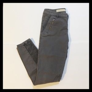 Pilcro and the Letterpress Gray Skinny Pants